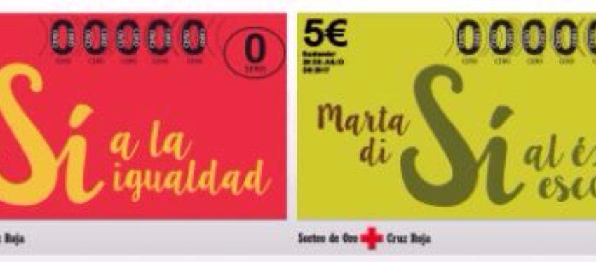 Foto: Boletos Sorteo Oro Cruz Roja