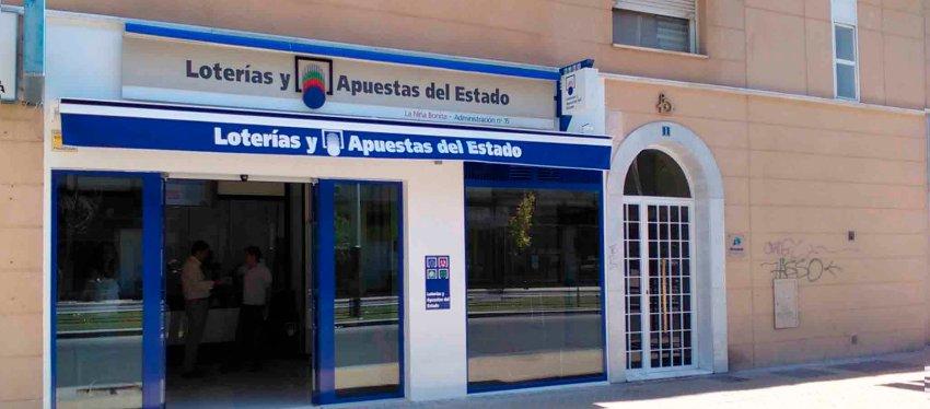 Administración Lotalia (La Niña Bonita), en Jaén.
