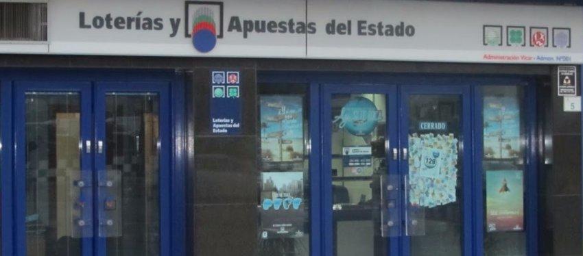 Foto: Administración nº 1 de Vícar (Almería)