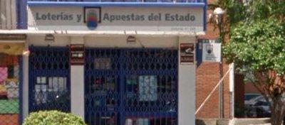 Foto: Administración Loterías 343 Madrid