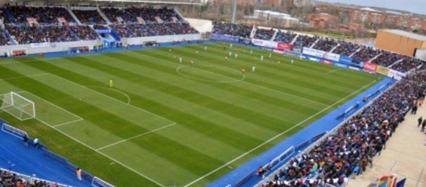Foto: Estadio Municipal de Butarque (Leganés)