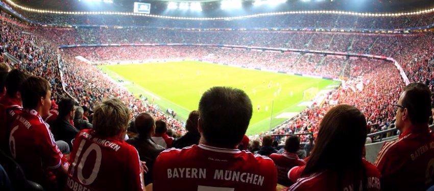 Foto: El hogar del FC Bayern; Allianz Arena