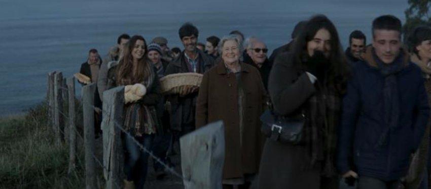 Carmina fue la protagonista del anuncio del año pasado, rodado en Asturias.
