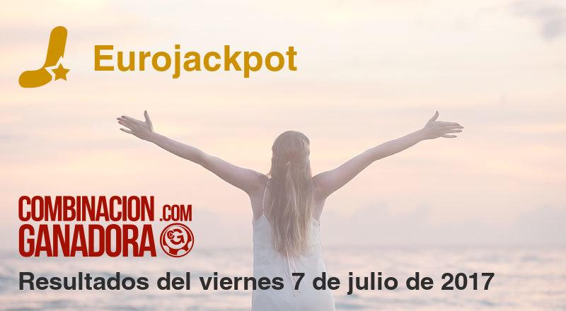 Eurojackpot del viernes 7 de julio de 2017