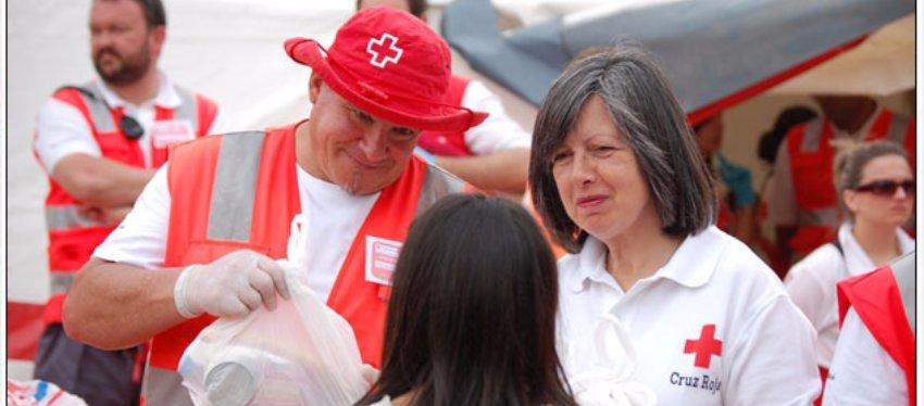 La Lotería de la Cruz roja permite prestar asistencia a 300.000 personas al año. Foto: Cruzroja.es