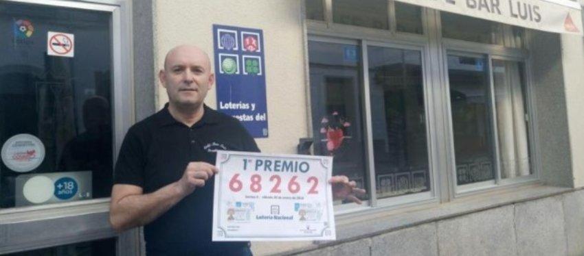 En el bar Luis, en Pozoblanco (Córdoba) se vendió el primer premio. Foto: Diario de Córdoba.