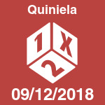 Quiniela del domingo 9 de diciembre de 2018
