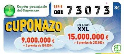 Insólito: ¡premiado el mismo número en el Cuponazo y Lotería Nacional!