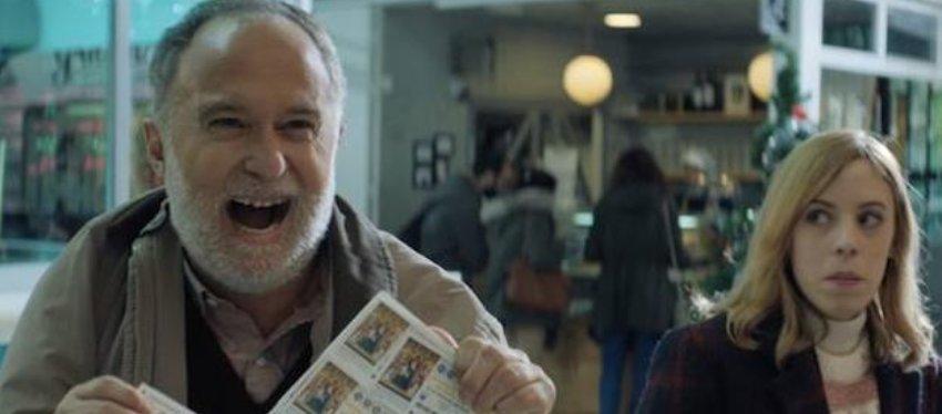 Juan, protagonista del anuncio de la Lotería de Navidad 2018.