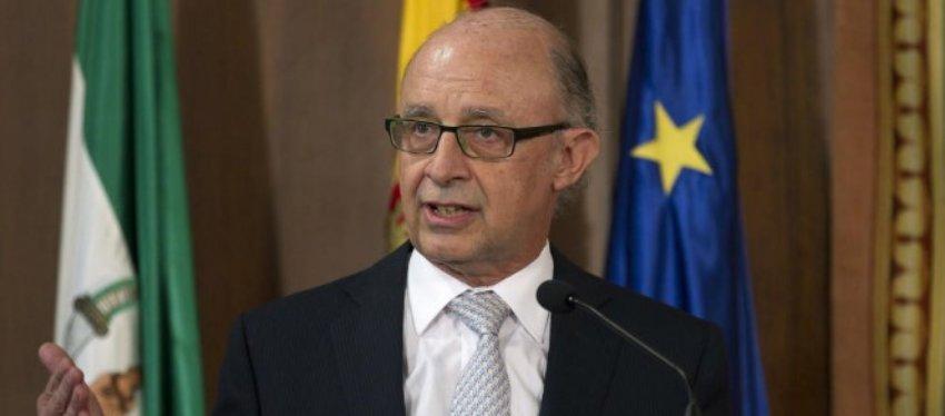 Cristobal Montoro, ministro de Hacienda. Foto: El Confidencial.