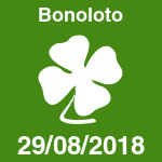 Bonoloto del miércoles 29 de agosto de 2018