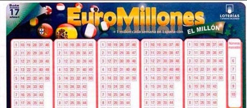Euromillones repartirá el próximo martes 118 millones de euros