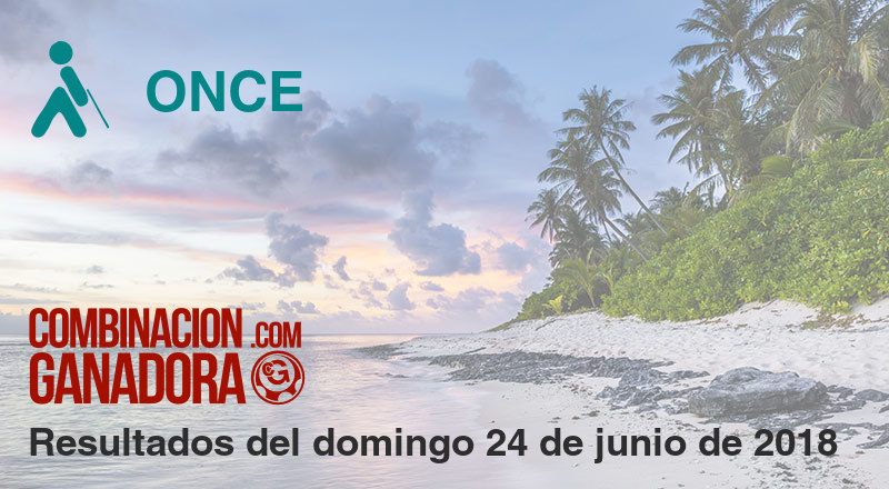 ONCE del domingo 24 de junio de 2018