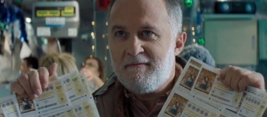 Juan, el protagonista del anuncio de la Lotería de Navidad.