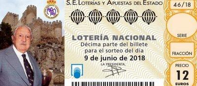 El décimo de Lotería Nacional del próximo 9 de junio. Foto: Twitter.