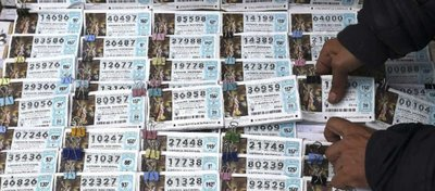 Corre ya a por tu décimo de Lotería de Navidad. Foto: RTVE.