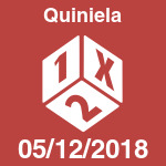 Resultado y escrutinio de Quiniela del miércoles 5 de diciembre de 2018