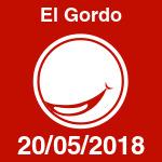 Resultado de El Gordo del domingo 20 de mayo de 2018