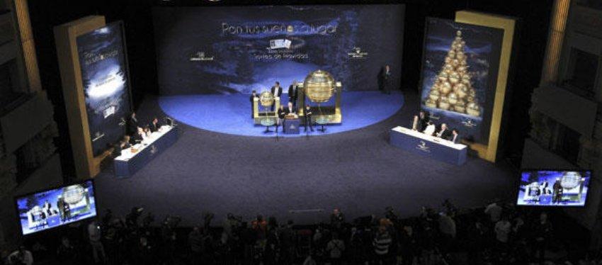 Teatro Real de Madrid, lugar donde se celebra el sorteo desde 2010.