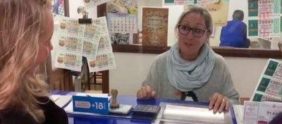 La administración de Lotería de Sant Llorenç. Foto: OKDiario.