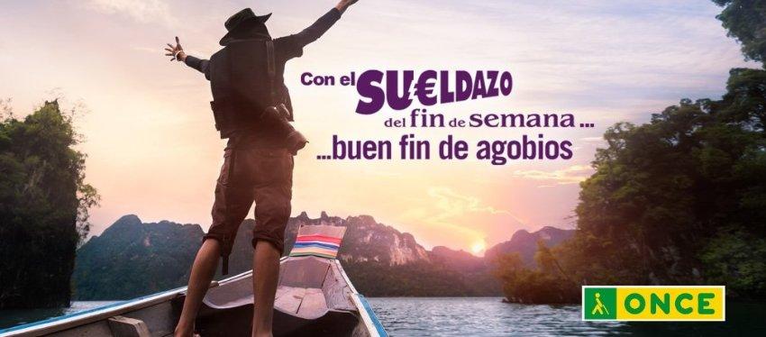 Imagen promocional del Sueldazo. Foto: ONCE.