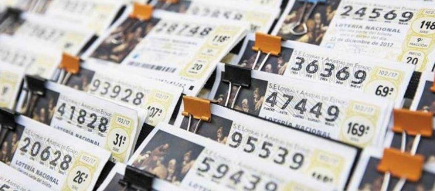 Se busca al propietario de un décimo agraciado con el segundo premio de la Lotería de Navidad