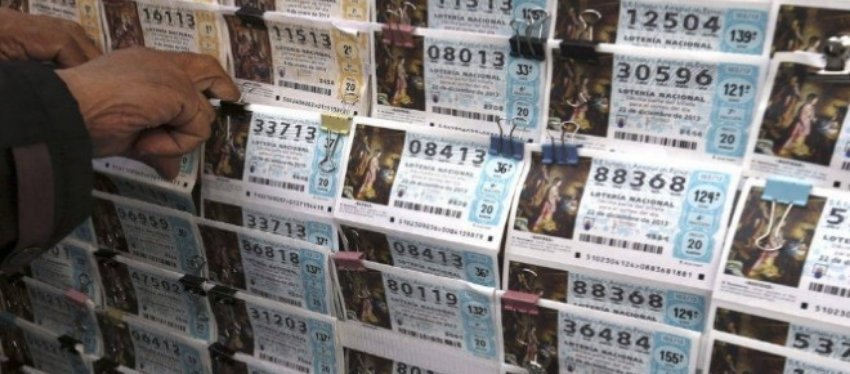 Décimos de Lotería de Navidad. Foto: Publico.