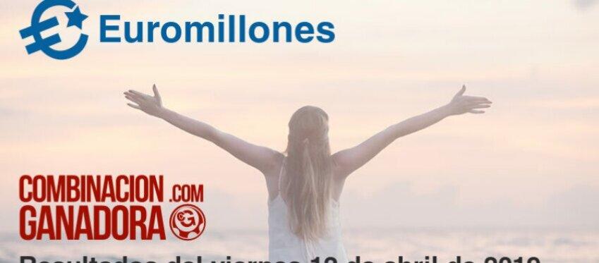 Euromillones del viernes 12 de abril de 2019