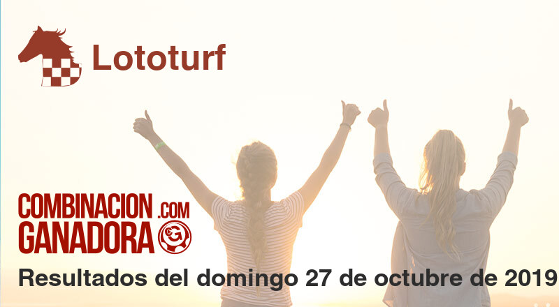 Lototurf del domingo 27 de octubre de 2019