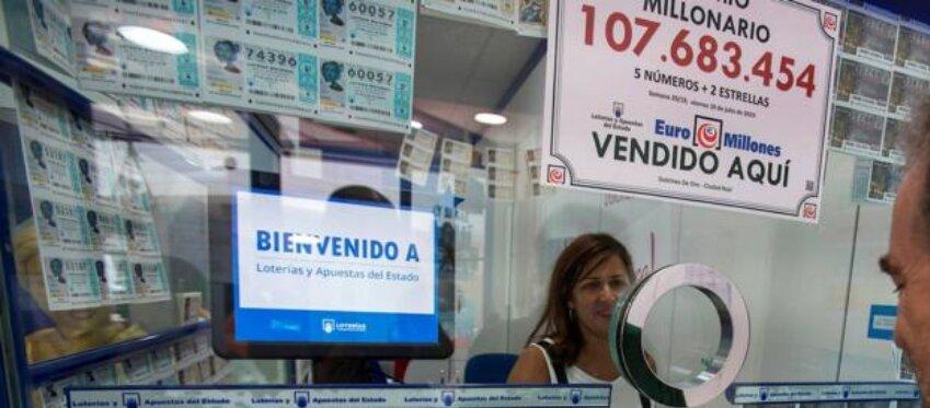 Esto es lo que se sabe del español que ganó 107 millones de euros con Euromillones