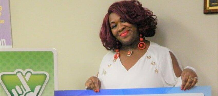 Deborah, la (multi)ganadora de la lotería de Virginia.
