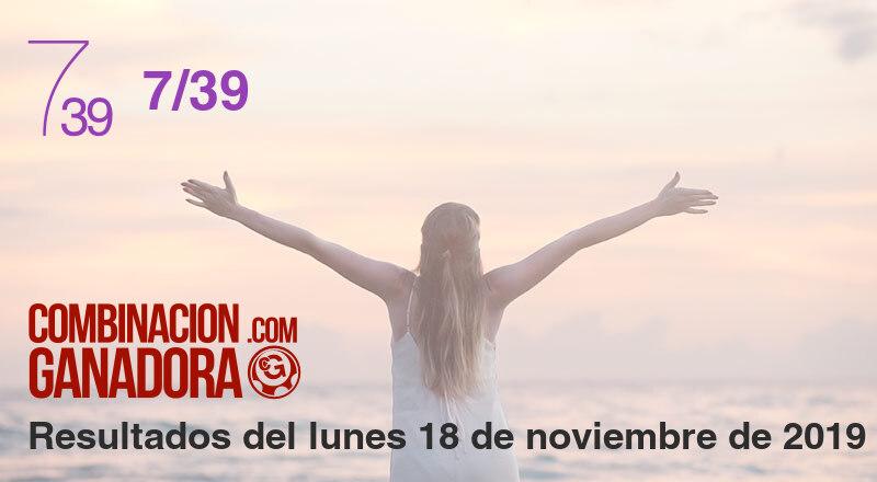 7/39 del lunes 18 de noviembre de 2019