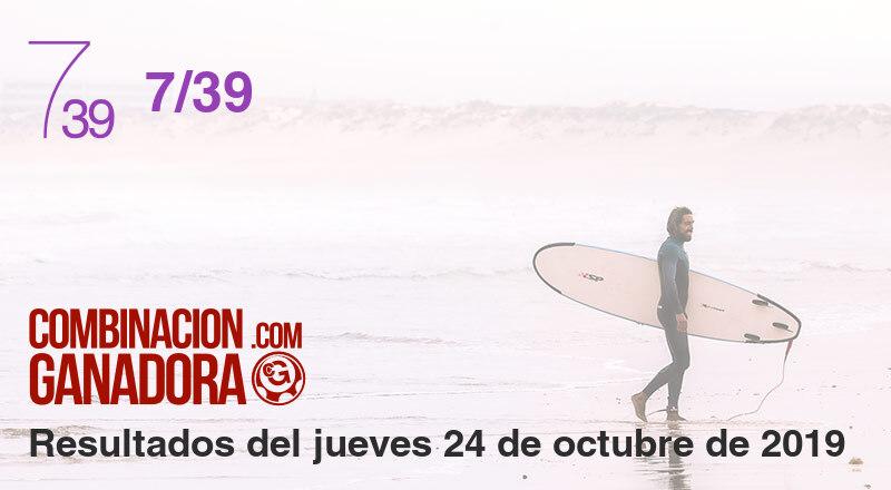 7/39 del jueves 24 de octubre de 2019