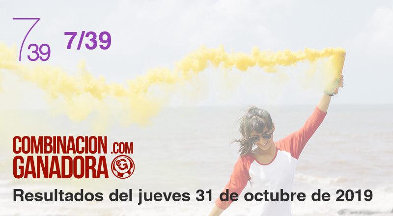 7/39 del jueves 31 de octubre de 2019