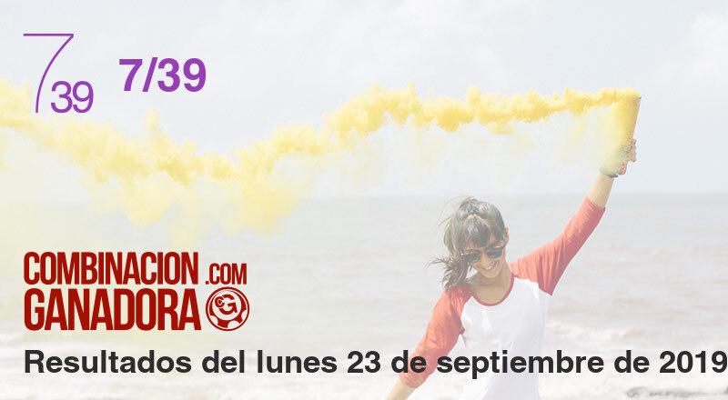 7/39 del lunes 23 de septiembre de 2019