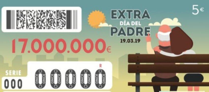 El extra del Día del Padre de la ONCE repartirá un millón de premios
