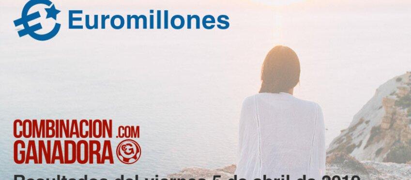 Euromillones del viernes 5 de abril de 2019