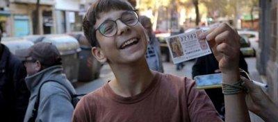 Cosmin, el joven agraciado. Foto: Twitter.