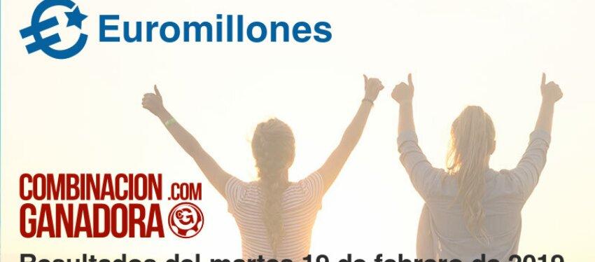 Euromillones del martes 19 de febrero de 2019