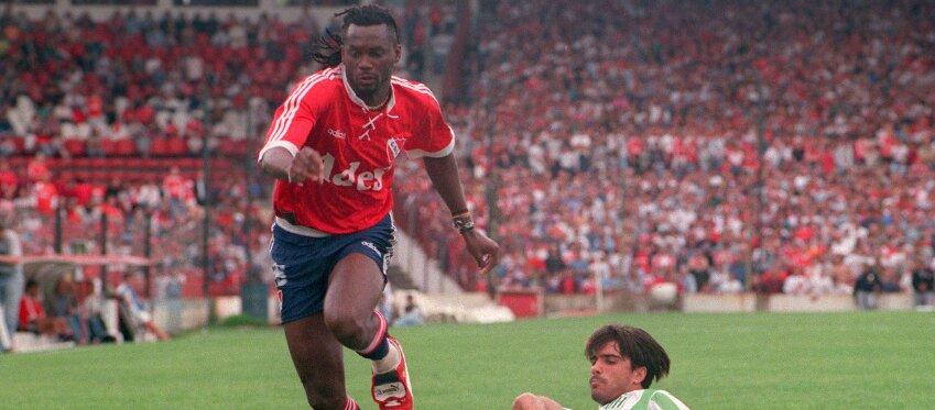 El \'Palomo\' Usuriaga, exfutbolista colombiano. Foto: Clarín.