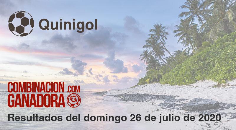 Quinigol del domingo 26 de julio de 2020