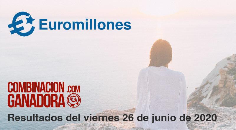 Euromillones del viernes 26 de junio de 2020