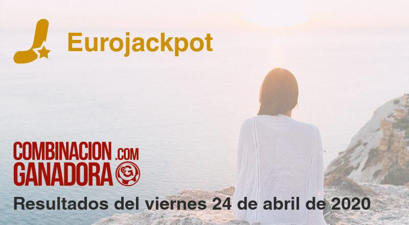 Eurojackpot del viernes 24 de abril de 2020