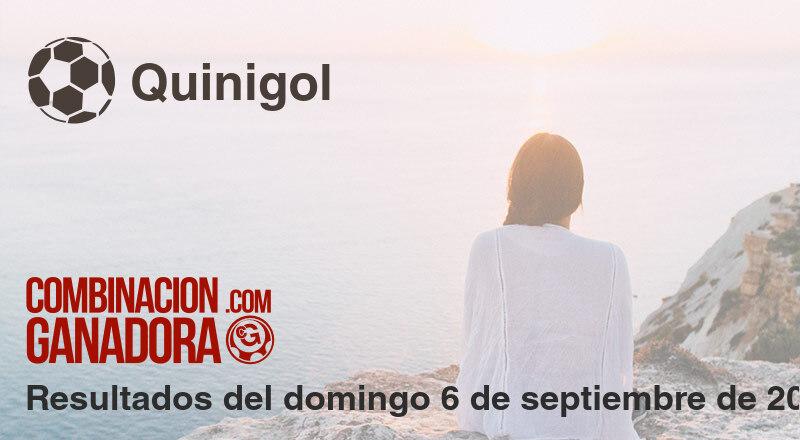 Quinigol del domingo 6 de septiembre de 2020