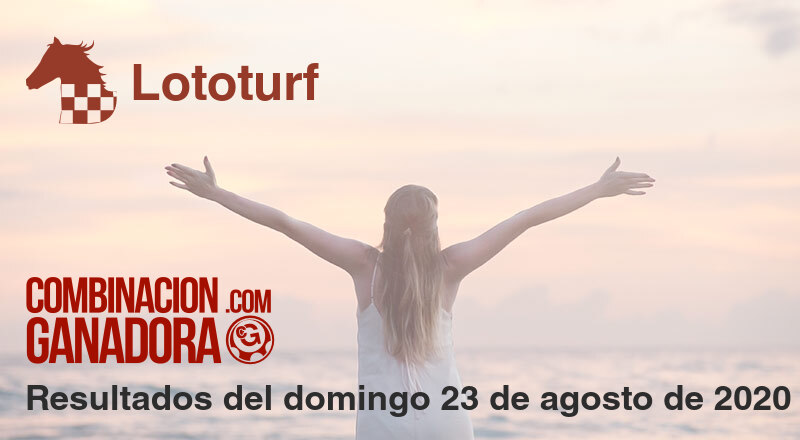 Lototurf del domingo 23 de agosto de 2020