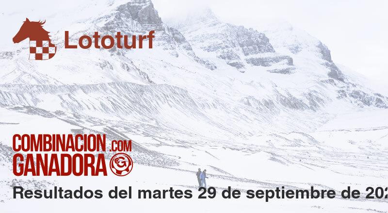 Lototurf del martes 29 de septiembre de 2020