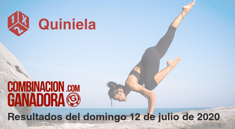 Quiniela del domingo 12 de julio de 2020