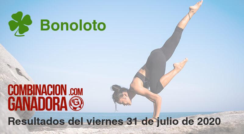 Bonoloto del viernes 31 de julio de 2020