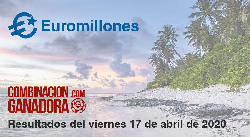 Euromillones del viernes 17 de abril de 2020