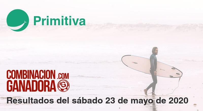 Primitiva del sábado 23 de mayo de 2020